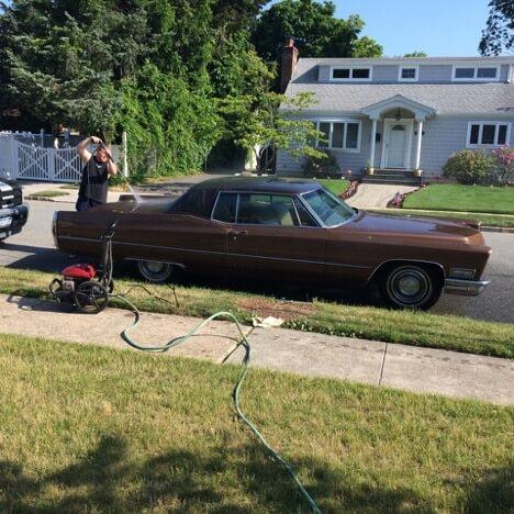 Long Island flipper finds an old car