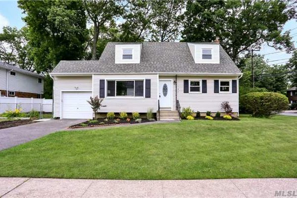 Massapequa Park fully renovated home picture from street