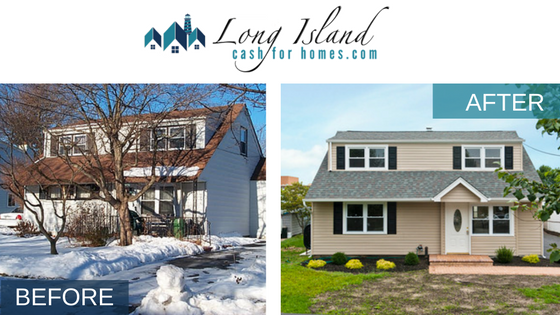 long island cash for home before and after