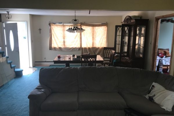 West Islip before picture of living area