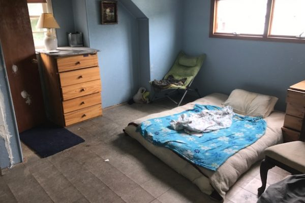 West Islip before picture of a bedroom