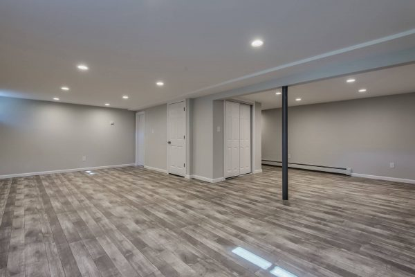 Renovated basement in West Islip